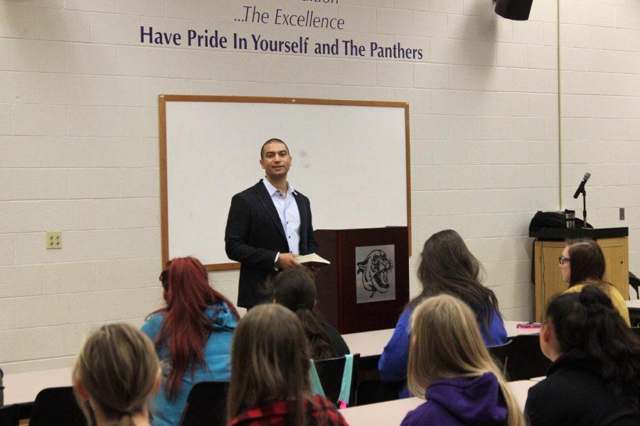 Indiana Poet Laureate Adrian Matejka visits South