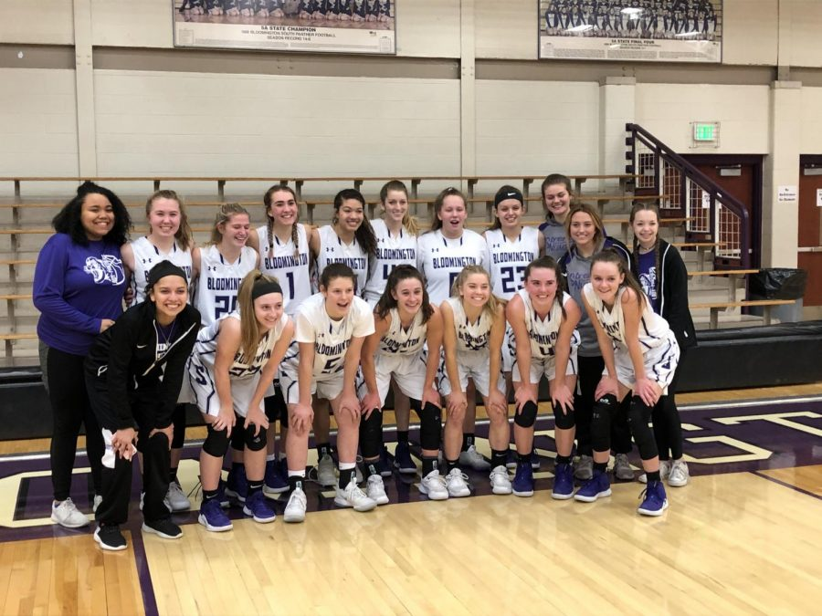 Girls basketball wins conference