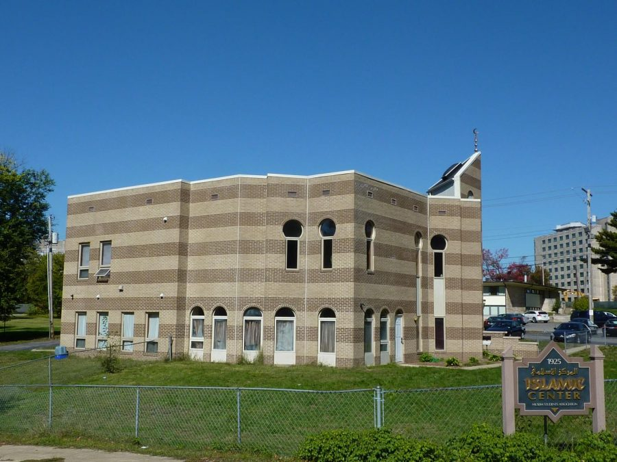 Courtesy of Creative Commons, the Islamic Center of Bloomington where Sunday night's memorial took place