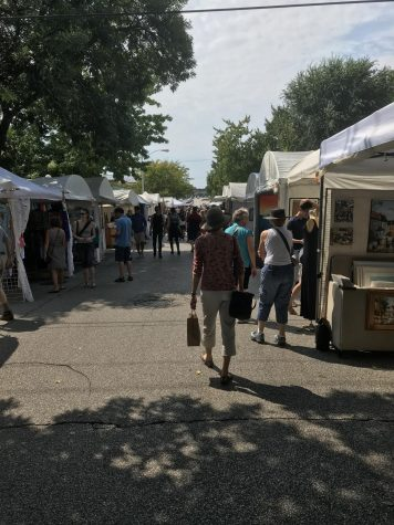 The purpose of art: a review of the 4th Street Arts Festival