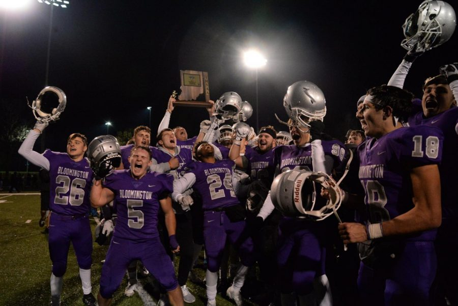 Bloomington South vs New Palestine semi-state preview