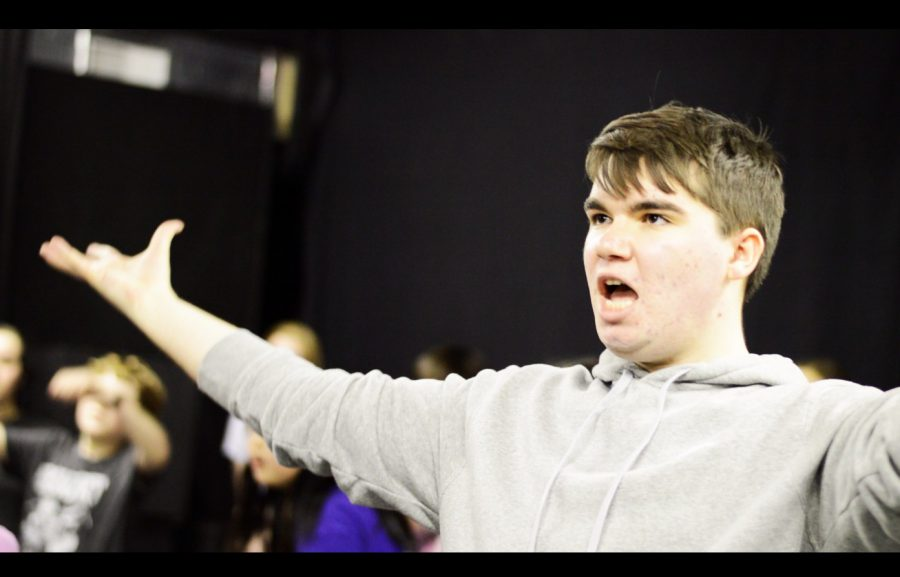 Joey+McRoberts+rehearses+a+number+in+Stages%27+production+of+%22Matilda%3A+The+Musical%22