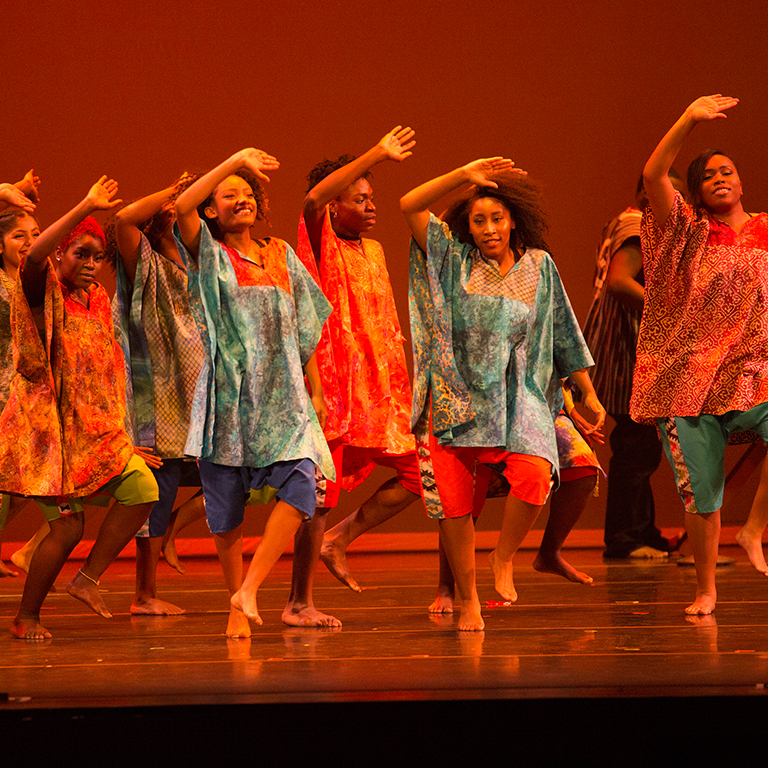 The African American Dance Company at Indiana University.