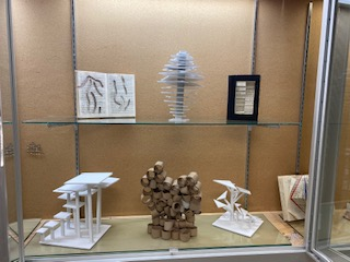 The BHSS sculpture class did these innovative book projects.