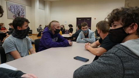 Around 35 students have joined the new D&D club, hosted by English teacher Ian Rickerby.