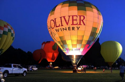 Local residents enjoyed the Kiwanis Indiana Balloon Fest over Labor Day weekend.