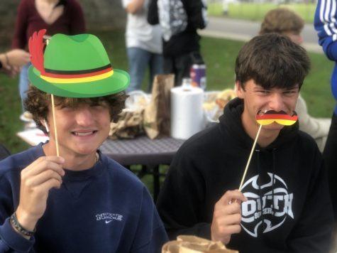 Though Munich canceled Oktoberfest this year, BHSS students said Probst!