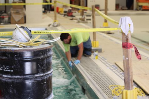 Workers are completing a major overhaul of the 1970s-era BHSS pool.